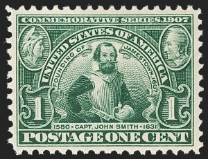 Sale Number 1212, Lot Number 74, 1902-08 Issues1c Jamestown (328), 1c Jamestown (328)
