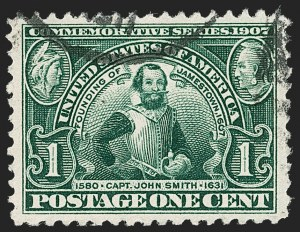 Sale Number 1212, Lot Number 75, 1902-08 Issues1c Jamestown (328), 1c Jamestown (328)