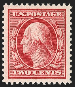 Sale Number 1212, Lot Number 79, 1908-10 Washington-Franklin Issues, 1909 Commemoratives2c Carmine (332), 2c Carmine (332)