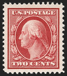 Sale Number 1212, Lot Number 80, 1908-10 Washington-Franklin Issues, 1909 Commemoratives2c Carmine (332), 2c Carmine (332)