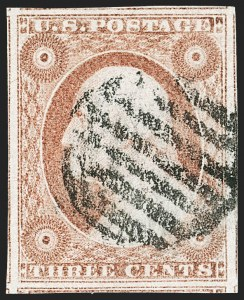 Sale Number 1212, Lot Number 9, 1851-60 Issues3c Dull Red, Ty. II (11A), 3c Dull Red, Ty. II (11A)