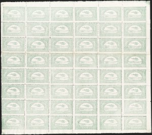 Sale Number 1213, Lot Number 505, Issued StampsCOLOMBIA, 1920-21, 10c-50c SCADTA First Issues (C12-C16), COLOMBIA, 1920-21, 10c-50c SCADTA First Issues (C12-C16)