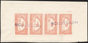Sale Number 1213, Lot Number 565, 1921 30-Cent Rose (C15)COLOMBIA, 1921, 30c Rose, Second SCADTA Issue (C15), COLOMBIA, 1921, 30c Rose, Second SCADTA Issue (C15)
