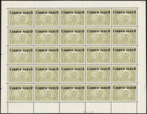 Sale Number 1213, Lot Number 677, Later IssuesCOLOMBIA, 1932, 5c-5p Air Post and Air Post Registration (C83-C95, CF4), COLOMBIA, 1932, 5c-5p Air Post and Air Post Registration (C83-C95, CF4)