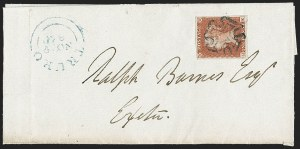 Sale Number 1214, Lot Number 1123, Great Britain - 1841 One-Penny Red Brown (3; SG 8)GREAT BRITAIN, 1841, 1p Red Brown (3; SG 8; SG Specialised B1sc), GREAT BRITAIN, 1841, 1p Red Brown (3; SG 8; SG Specialised B1sc)