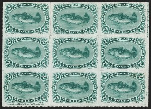 Sale Number 1214, Lot Number 1237, Canadian ProvincesNEWFOUNDLAND, 1879, 2c Green, Rouletted (38; SG 41), NEWFOUNDLAND, 1879, 2c Green, Rouletted (38; SG 41)