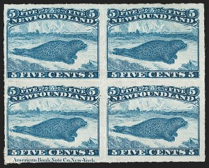 Sale Number 1214, Lot Number 1238, Canadian ProvincesNEWFOUNDLAND, 1876, 5c Blue, Rouletted (40; SG 43), NEWFOUNDLAND, 1876, 5c Blue, Rouletted (40; SG 43)
