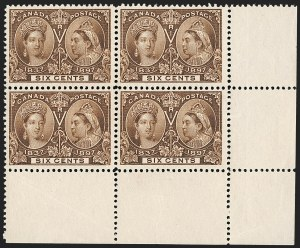 Sale Number 1214, Lot Number 1266, Canada thru 1898 Jubilee IssueCANADA, 1897, 6c Jubilee (55), CANADA, 1897, 6c Jubilee (55)