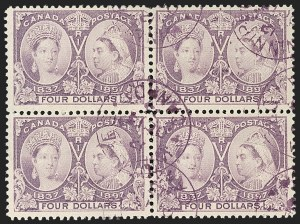 Sale Number 1214, Lot Number 1269, Canada thru 1898 Jubilee IssueCANADA, 1897, $4.00 Jubilee (64), CANADA, 1897, $4.00 Jubilee (64)