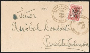 Sale Number 1214, Lot Number 1509, Colombia - Air Post IssuesCOLOMBIA, 1919, 2c Knox Martin Air Post (C1), COLOMBIA, 1919, 2c Knox Martin Air Post (C1)
