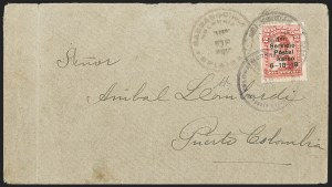 "Sale Number 1214, Lot Number 1511, Colombia - Air Post IssuesCOLOMBIA, 1919, 2c Knox Martin Air Post, Numeral ""1"" with Serif (C1a), COLOMBIA, 1919, 2c Knox Martin Air Post, Numeral ""1"" with Serif (C1a)"