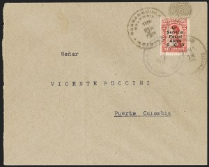 Sale Number 1214, Lot Number 1512, Colombia - Air Post IssuesCOLOMBIA, 1919, 2c Knox Martin Air Post (C1), COLOMBIA, 1919, 2c Knox Martin Air Post (C1)