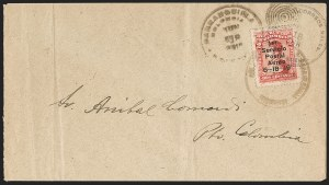 Sale Number 1214, Lot Number 1514, Colombia - Air Post IssuesCOLOMBIA, 1919, 2c Knox Martin Air Post (C1), COLOMBIA, 1919, 2c Knox Martin Air Post (C1)
