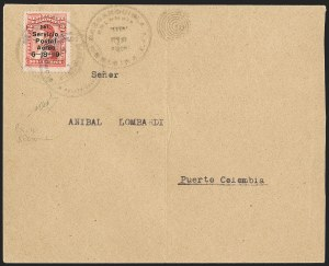 Sale Number 1214, Lot Number 1516, Colombia - Air Post IssuesCOLOMBIA, 1919, 2c Knox Martin Air Post (C1), COLOMBIA, 1919, 2c Knox Martin Air Post (C1)