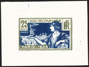 Sale Number 1214, Lot Number 1562, FranceFRANCE, 1924, 10c-50c Olympic Games, Small Die Essays (198-201E; Yvert 183-186E), FRANCE, 1924, 10c-50c Olympic Games, Small Die Essays (198-201E; Yvert 183-186E)