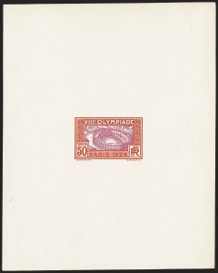 Sale Number 1214, Lot Number 1564, FranceFRANCE, 1924, 50c Nimes Arena Olympic Essay of the Rejected Design (201E; Yvert 188E; Maury 186A), FRANCE, 1924, 50c Nimes Arena Olympic Essay of the Rejected Design (201E; Yvert 188E; Maury 186A)