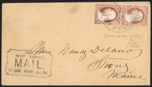 Sale Number 1215, Lot Number 2159, California-Related3c Red, Ty. II (11A), 3c Red, Ty. II (11A)