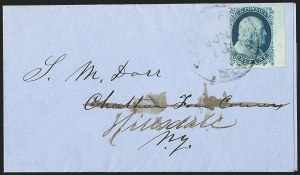 Sale Number 1215, Lot Number 2252, 1851-56 Issue1c Blue, Ty. Ia (6), 1c Blue, Ty. Ia (6)