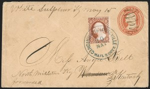 Sale Number 1215, Lot Number 2254, 1851-56 Issue3c Dull Red, Ty. I (11), 3c Dull Red, Ty. I (11)