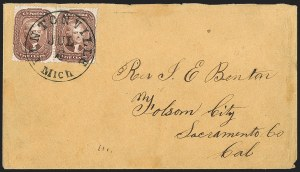 Sale Number 1215, Lot Number 2269, 1857-60 Issue5c Red Brown, Ty. I (28), 5c Red Brown, Ty. I (28)