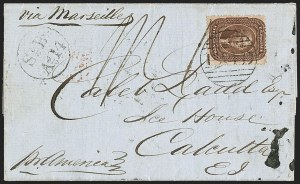 Sale Number 1215, Lot Number 2273, 1857-60 Issue5c Brown, Ty. II (30A), 5c Brown, Ty. II (30A)