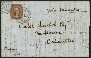 Sale Number 1215, Lot Number 2274, 1857-60 Issue5c Brown, Ty. II (30A), 5c Brown, Ty. II (30A)