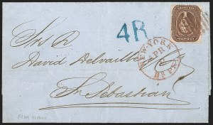 Sale Number 1215, Lot Number 2275, 1857-60 Issue5c Brown, Ty. II (30A), 5c Brown, Ty. II (30A)