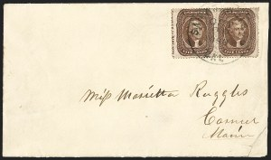 Sale Number 1215, Lot Number 2276, 1857-60 Issue5c Brown, Ty. II (30A), 5c Brown, Ty. II (30A)