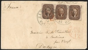 Sale Number 1215, Lot Number 2278, 1857-60 Issue5c Brown, Ty. II (30A), 5c Brown, Ty. II (30A)