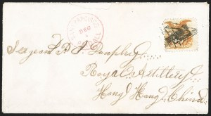Sale Number 1215, Lot Number 2336, 1869 Pictorial Issue10c Yellow (116), 10c Yellow (116)