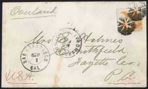 Sale Number 1215, Lot Number 2337, 1869 Pictorial Issue10c Yellow (116), 10c Yellow (116)
