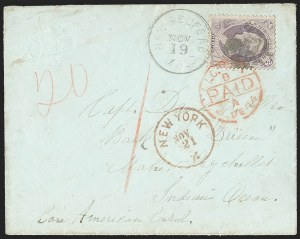 Sale Number 1215, Lot Number 2352, 1870-88 Bank Note Issues24c Purple (153), 24c Purple (153)