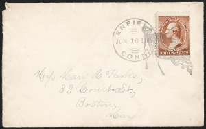 Sale Number 1215, Lot Number 2370, 1870-88 Bank Note Issues2c Red Brown (210), 2c Red Brown (210)