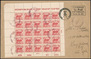 Sale Number 1215, Lot Number 2391, 1893 Columbian, 1898 Pan-American and Later Issues2c White Plains Souvenir Sheet (630), 2c White Plains Souvenir Sheet (630)