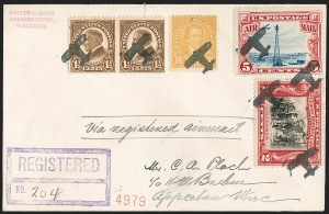 Sale Number 1215, Lot Number 2482, Collections and Accumulations20th Century Fancy Cancels, Cover Balance, 20th Century Fancy Cancels, Cover Balance
