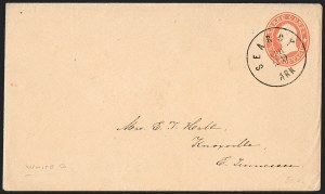 Sale Number 1215, Lot Number 2542, Confederate States: Lee Signed Cover, U.S. Postage in ConfederacySearcy Ark. Apr. 29 (1861), Searcy Ark. Apr. 29 (1861)