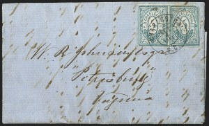 Sale Number 1215, Lot Number 2545, Confederate States: Postmasters' ProvisionalsCharleston S.C., 5c Blue (16X1), Charleston S.C., 5c Blue (16X1)