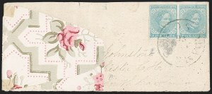 Sale Number 1215, Lot Number 2587, Confederate States: General Issues On Cover5c Light Blue, De La Rue (6), 5c Light Blue, De La Rue (6)