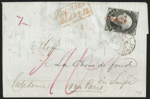 Sale Number 1216, Lot Number 17, Postmasters' Provisionals: New York N.Y. thru St. Louis Mo.New York N.Y., 5c Black, Without Signature (9X1e), New York N.Y., 5c Black, Without Signature (9X1e)