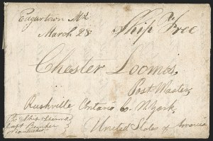 Sale Number 1216, Lot Number 216, Hawaii: Stampless Covers and Missionary Issues,