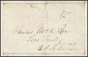 Sale Number 1216, Lot Number 220, Hawaii: Stampless Covers and Missionary Issues,