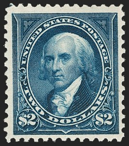 Sale Number 1217, Lot Number 1014, 1894-98 Bureau Issue (Scott 246-284)$2.00 Bright Blue (277), $2.00 Bright Blue (277)