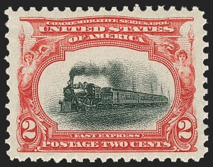 Sale Number 1217, Lot Number 1049, 1901 Pan-American Issue (Scott 294-299)2c Pan-American (295), 2c Pan-American (295)