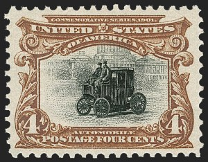 Sale Number 1217, Lot Number 1050, 1901 Pan-American Issue (Scott 294-299)4c Pan-American (296), 4c Pan-American (296)
