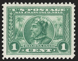 Sale Number 1217, Lot Number 1109, 1910-13 Issues (Scott 374-404)1c Panama-Pacific (397), 1c Panama-Pacific (397)