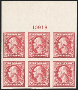Sale Number 1217, Lot Number 1161, 1918-22 Issues (Scott 527-573)2c Carmine Rose, Ty. IV, Imperforate (532), 2c Carmine Rose, Ty. IV, Imperforate (532)