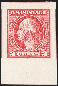 Sale Number 1217, Lot Number 1162, 1918-22 Issues (Scott 527-573)2c Carmine, Ty. V, Imperforate (533), 2c Carmine, Ty. V, Imperforate (533)