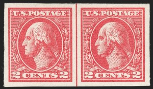 Sale Number 1217, Lot Number 1164, 1918-22 Issues (Scott 527-573)2c Carmine, Ty. VII, Imperforate (534B), 2c Carmine, Ty. VII, Imperforate (534B)
