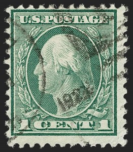 Sale Number 1217, Lot Number 1167, 1918-22 Issues (Scott 527-573)1c Green, Rotary Perf 11 (544), 1c Green, Rotary Perf 11 (544)