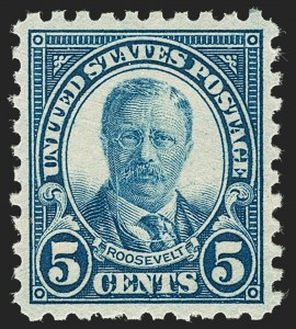 Sale Number 1217, Lot Number 1178, 1923-29 Issues (Scott 578-679)5c Blue, Perf 10 (586), 5c Blue, Perf 10 (586)